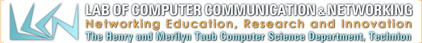 Logo of Lab of Computer Communication and Networking (LCCN), Technion